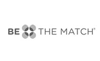 Connecting patients, donors, and supporters; Be The Match logo
