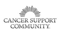 No one should face cancer alone; Cancer Support Community logo